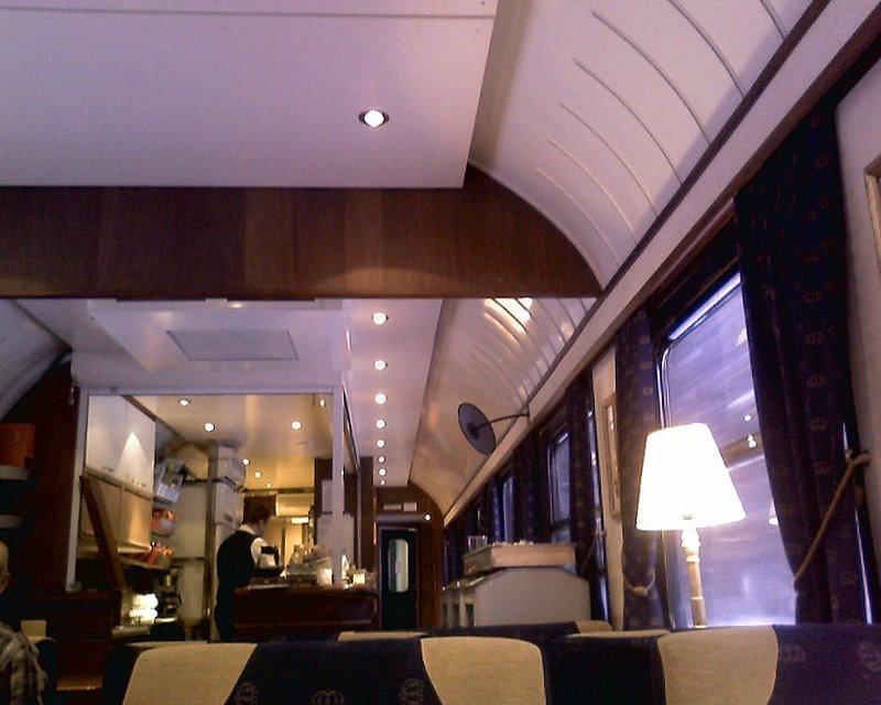 och p?minner om restaurang Orientexpressen p? Stockholms Central p?