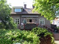 Hus byggt i granit
