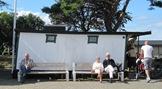 Lekplats för de gamla som redan kommit så långt de vill