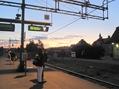 I väntan på nattåget till Stockholm