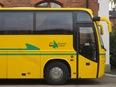 Väldigt gul buss