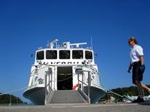 Silverpilen beredd att ta emot resenärer som skall hem till Årsta