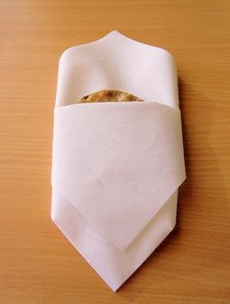 Hårt bröd i lyxförpackning