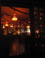 """Hotel Kramer med """"mitt"""" frukostbord när jag kommer med nattåget"""