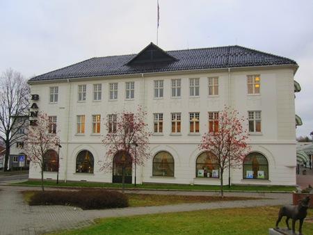 Centrala Kongsvingers vackraste hus - Hedemarks Sparbank