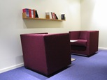 Arbetsrum för tysta samtal