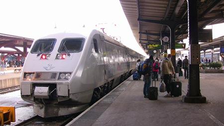Idag stod mitt tåg som jag skulle vända tillbaka till STockholm inne när jag kom till Göteborgs Central.