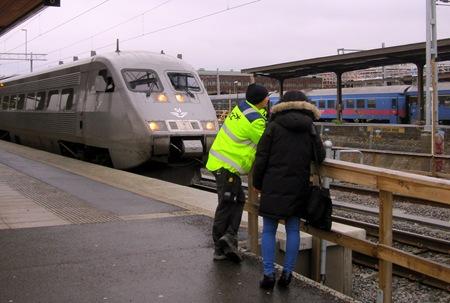 X2000 tåg vid Uppsala C