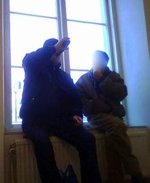 Öppet supande i barnens väntsal i Norrköping
