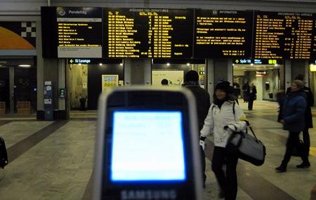 Ingen SMS-avisering eller SMS-biljett här inte