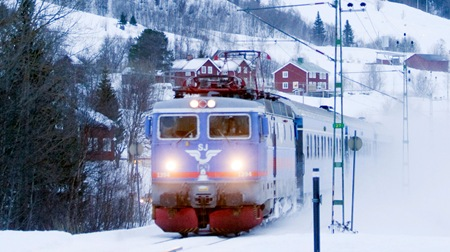 Intercity till Are Vinter Duved