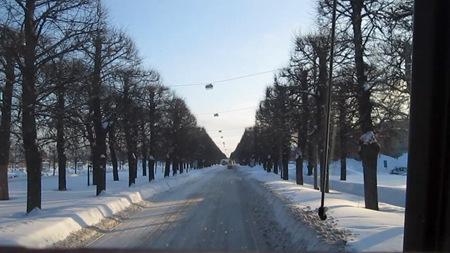 Klart spår utfart Norrköping