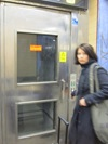 Även hiss var ut funktion
