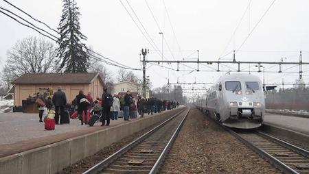 Det är bara att överge tåget
