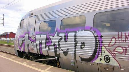 Nedkladdat tåg 492