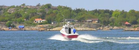 På väg ut till Styrsö