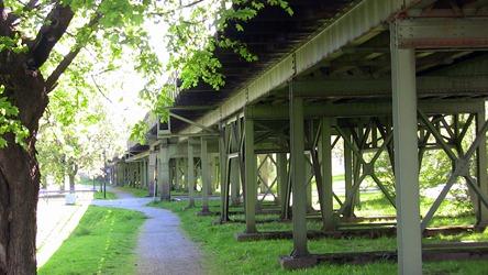 Den berömda järnvägsviadukten