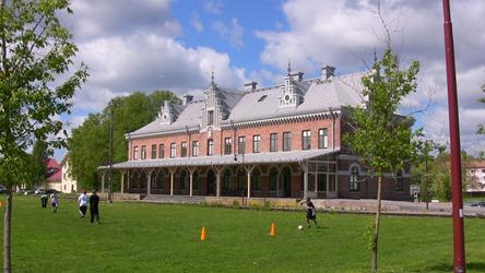 Söderhamns gamla station pietetsfullt renoverad