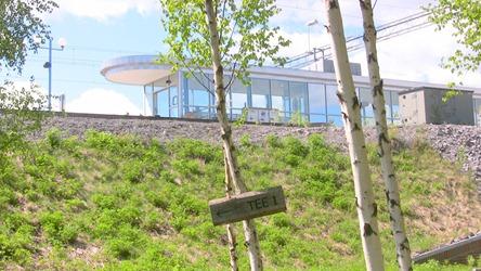 Söderhamns station - Nära till golfbanan