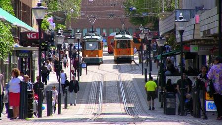 Vad vore Norrköping utan sina spårvagnar