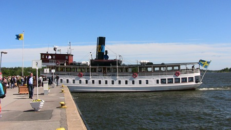 Den trevliga båten S/S Norrskär