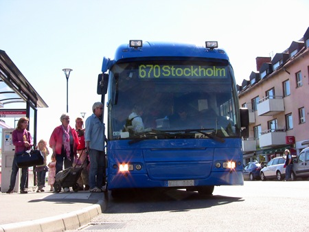 Set blev SL-buss i stället
