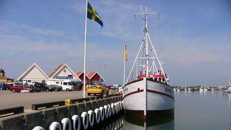 Varberg - Utfärdsbåt för fiskeentusiaster