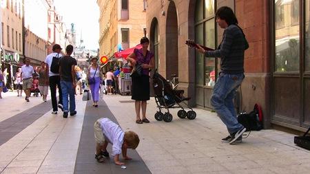Streetdance på Drottninggatan
