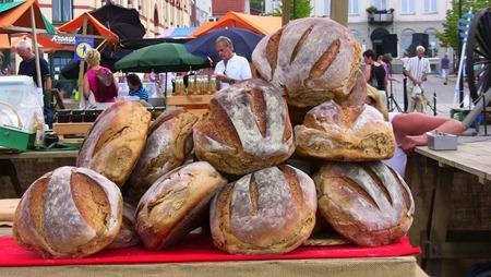 Frestande gott bröd