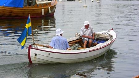 Typisk båt för trakten - snipan