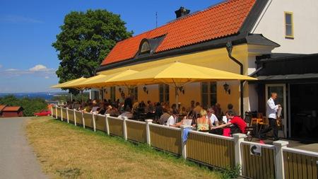 Utö Värdshus veranda – Öns bästa matplats