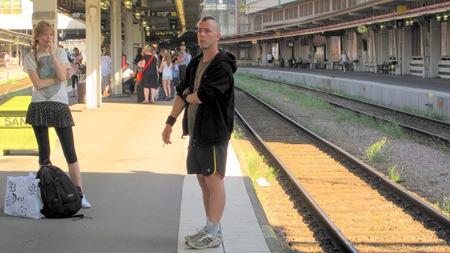 Bra exempel på god röketikett vid tågresa