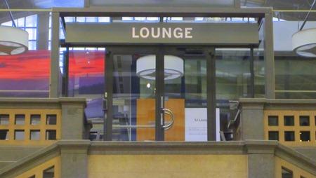 Sommarstängd SJ lounge på Stockholm Central