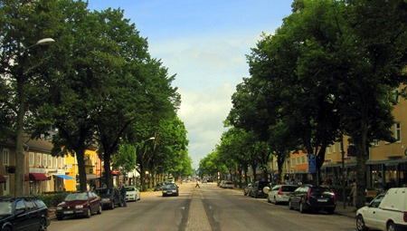 Lite av Champs-Élysées ?
