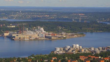 Mycket processindustri i Sundsvall