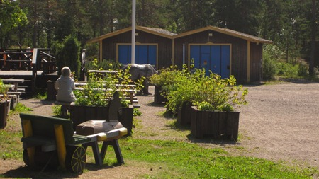 Planering inför utflykt i svampskogen