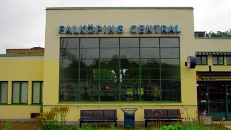 FAlköping - Stolt station med stolta arkitektoniska traditioner