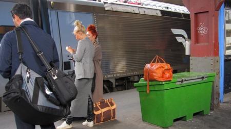 Obevkad väska på Göteborg C