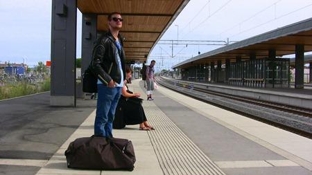 I väntan på tåget - Uppsala C