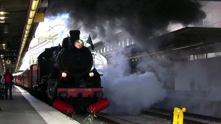 NMJ:s chartertåg avgår från Stockholm Central