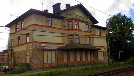 """Spökhuset eller """"Flens järnvägshotell"""""""