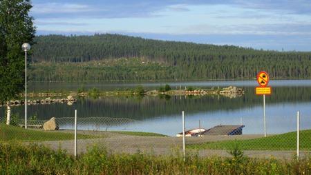 Kanske blir det tid över för ett kvällsbad i Revsundssjön?