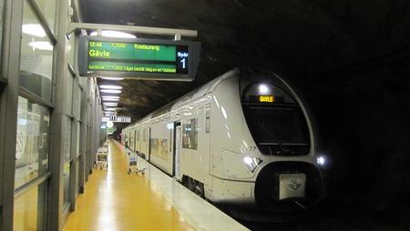 Ett annat X40 tåg på Arlanda C av den typ som Jonas  E åkte med