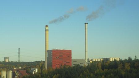 Värmeverket - välkänt landmärke i Södertälje