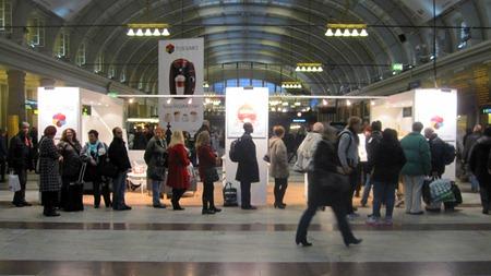 Varför den långa kön på Stockholms Central ?