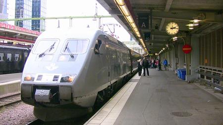 På väg till Odense . . .