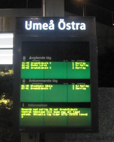 nattåg umeå stockholm