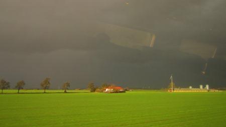 Infart till Lund från söder