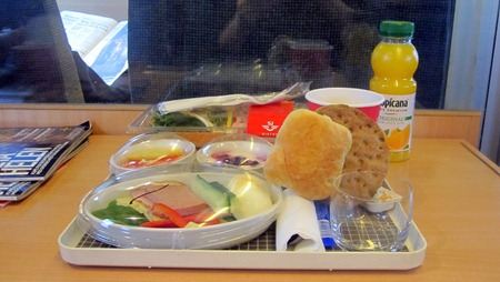 Stor Frukost special ( med räklandgång )