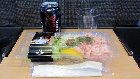 Leif Mannerströms räksmörgås